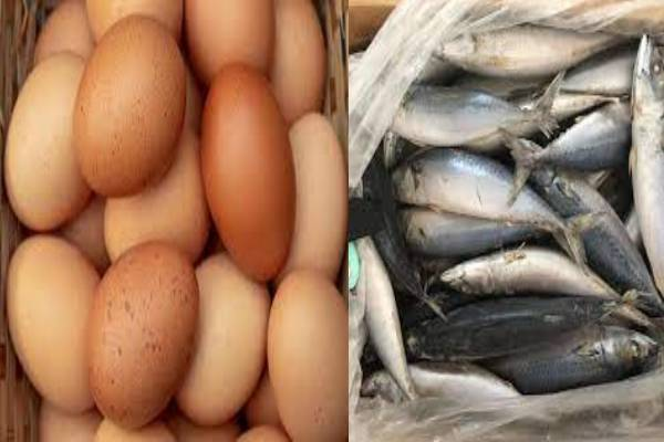 Replacing eggs with chinese mackerel in Ghana