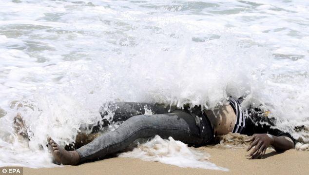 body washed ashore