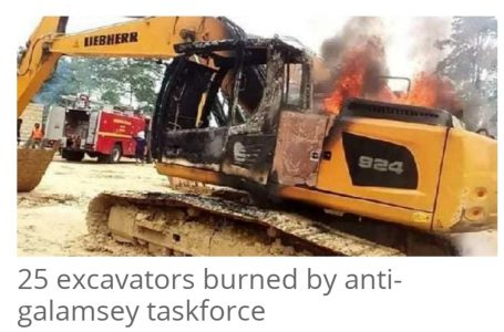 Burning expensive excavators is madness; use them to fix our bad roads – Central Region chiefs