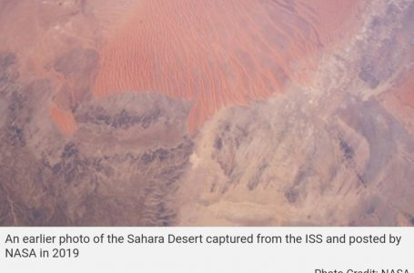 'Red Planet' or 'Sahara Desert'? This Photo by NASA Is 'Too Hot to Handle'