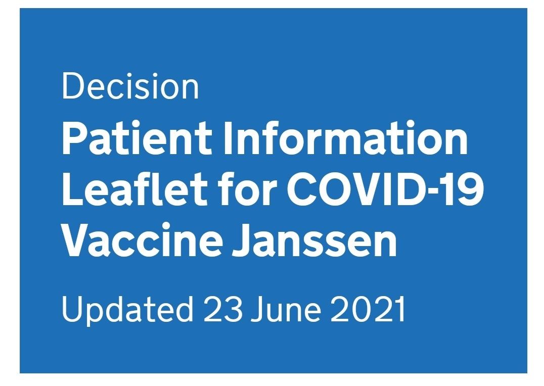 What do you know about the COVID-19 Vaccine Johnson & Johnson (Janssen)?