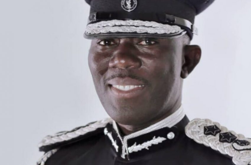 Dampare sworn-in as substantive IGP