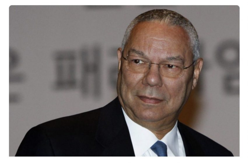 General Colin Powell dies after complications from Covid-19