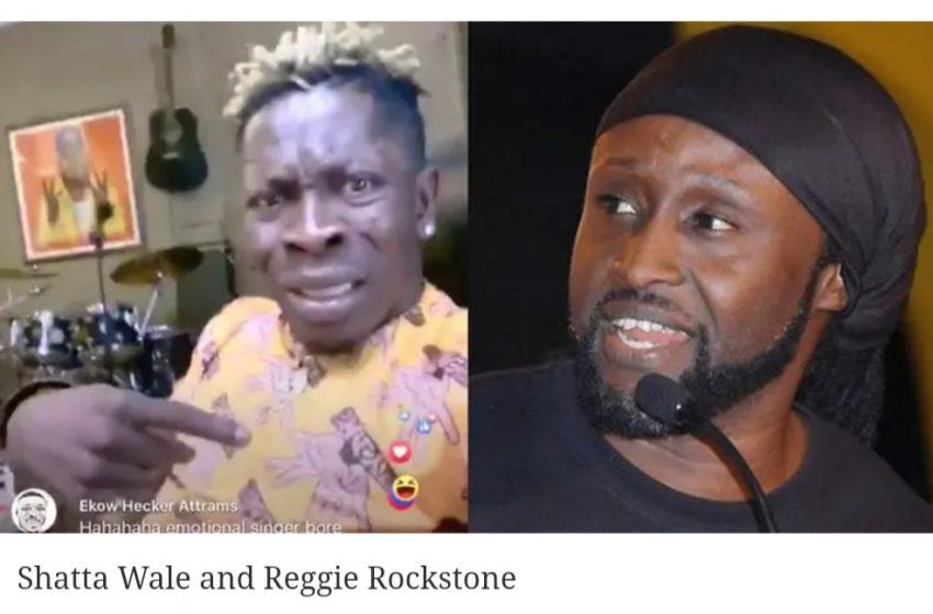 Reggie Rockstone chastises Shatta Wale over 'publicity stunt'