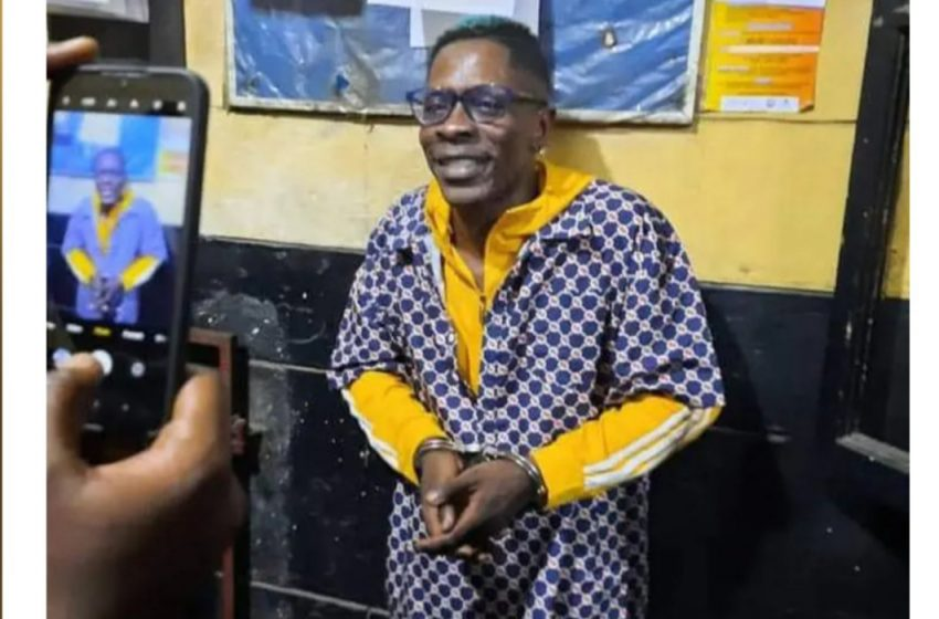 Shatta Wale turns himself in to the police, gets arrested afterwards