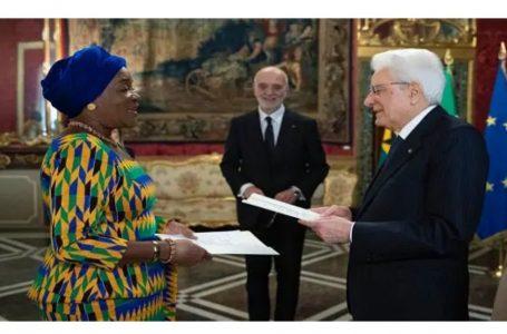 Ghana's ambassador to Italy has died