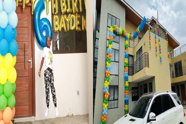 Work Hard So You Can Also Do This-See What A Nigerian Lady Gifted Her Son On His Birthday