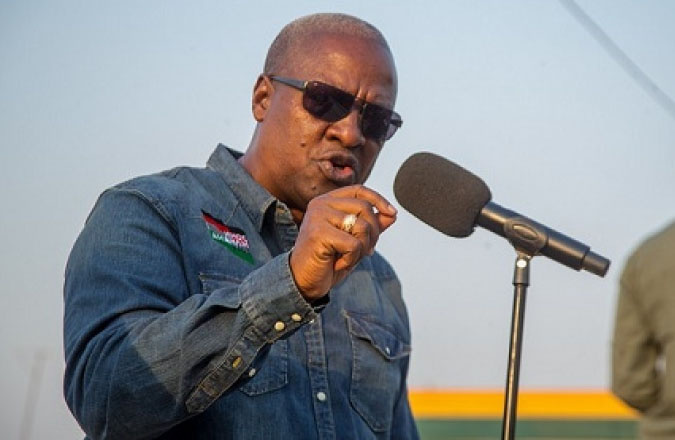 NDC Will Die For You If You Die For NDC-Mahama To Supporters
