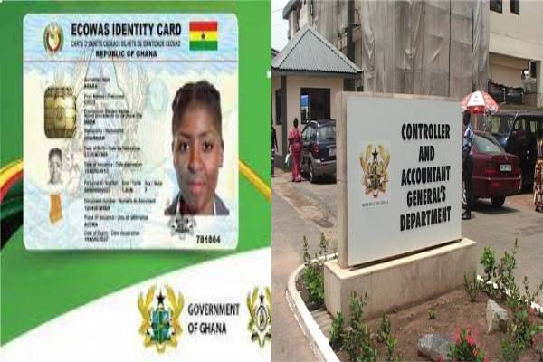 Ghana Card For Salary As Controller Sets Date For Implementation On Dec 1, 2021