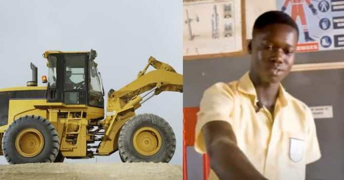 Young Engineering Student Builds Working Excavator That Uses Only Water