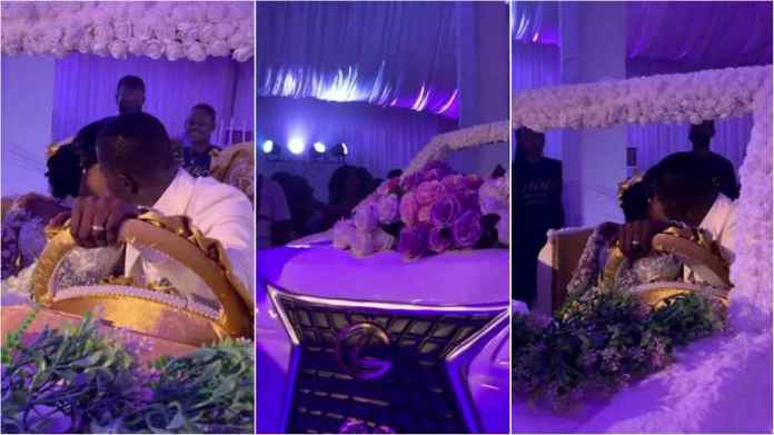 Biggest Wedding Cake In Ghana Record Set By New Couple