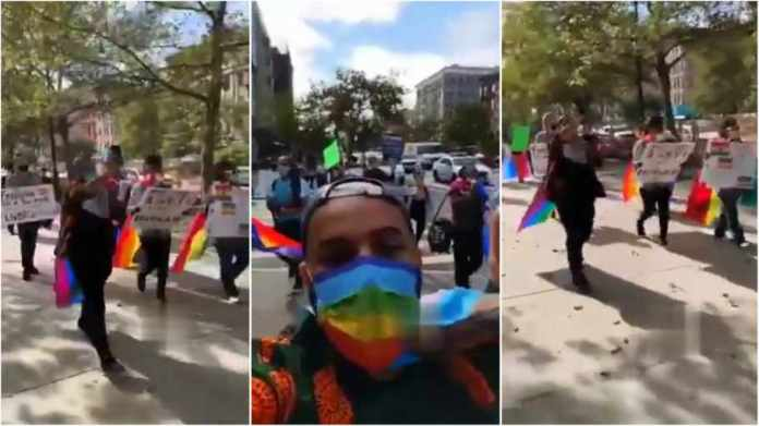 Massive Protests In The Streets Of New York And Canada Over Ghana's Anti-Gay Bill